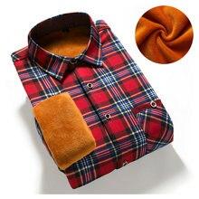 2017 slim fit männer winter langarm kleid hemd warme casual vintage cord herren formelle shirt camisa masculina (asiatische Größe)