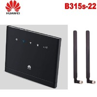Разблокированный huawei B315 huawei 4G CEP портативный беспроводной wifi маршрутизатор huawei B315s-22 Lte wifi маршрутизатор плюс 2 шт 4g антенна SMA