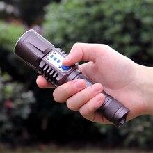 linternas 3800 lumens cree xm-l2 flashlight LED XML T6 L2 flash light USB Intelligent hunting equipment flashlights HW516