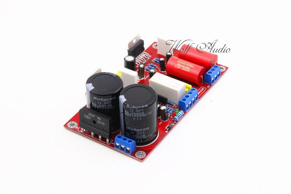 Assemblage TDA7294 HiFi carte amplificateur de puissance stéréo 85 W + 85 W avec Protection haut-parleur Circuit Amp bricolage
