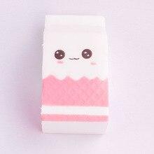 POPOKi Cute pink milk kawaii antistress squishy