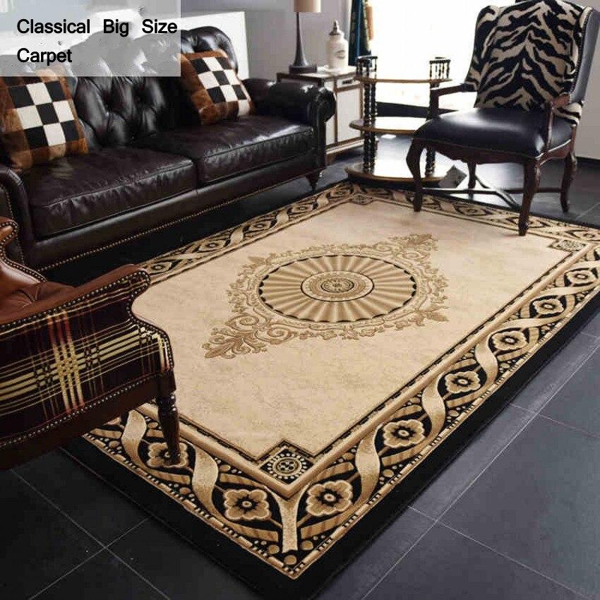 Смешанное покрытие, Большие размеры персидский ковер, Кабинет Простой узор ковра, журнальный столик, ковер, классические украшения дома