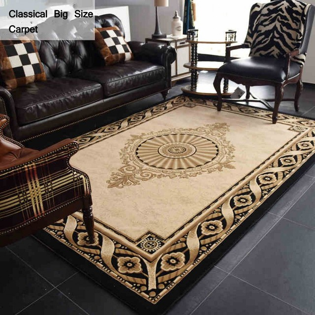 Blended Carpet, Big Size Persian Carpet , Office Room Simple Pattern Carpet,coffee  Table