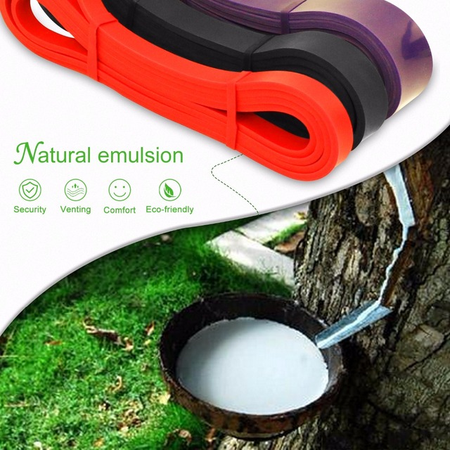 New Rubber Body Building Resistance Bands fitness body gym power training For pilates Exercise Weight Lifting Workout