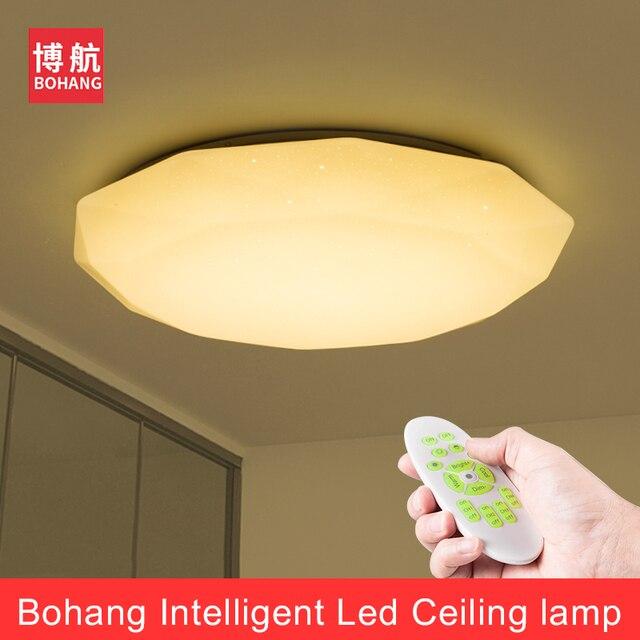 NEUE Moderne Led Deckenleuchte 2,4G RF Fernbedienung Dimmbare Ceililng  Lichter Für Wohnzimmer Schlafzimmer