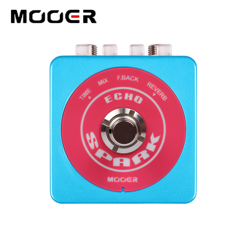 NEW Effect Guitar Pedal /MOOER SPARK ECHO High quality delay pedal, up to 1000 milliseconds of delay time free shipping звуковая карта pci e x1 asus xonar dgx 5 1 ret