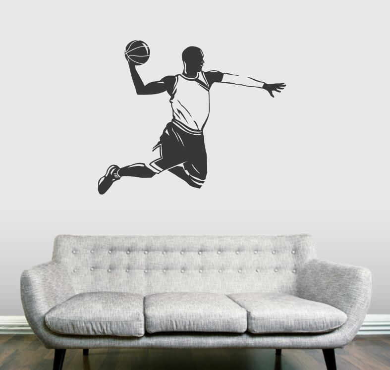Online Get Cheap Custom Wall Decal Basketball Aliexpresscom - Custom vinyl wall decal equipment