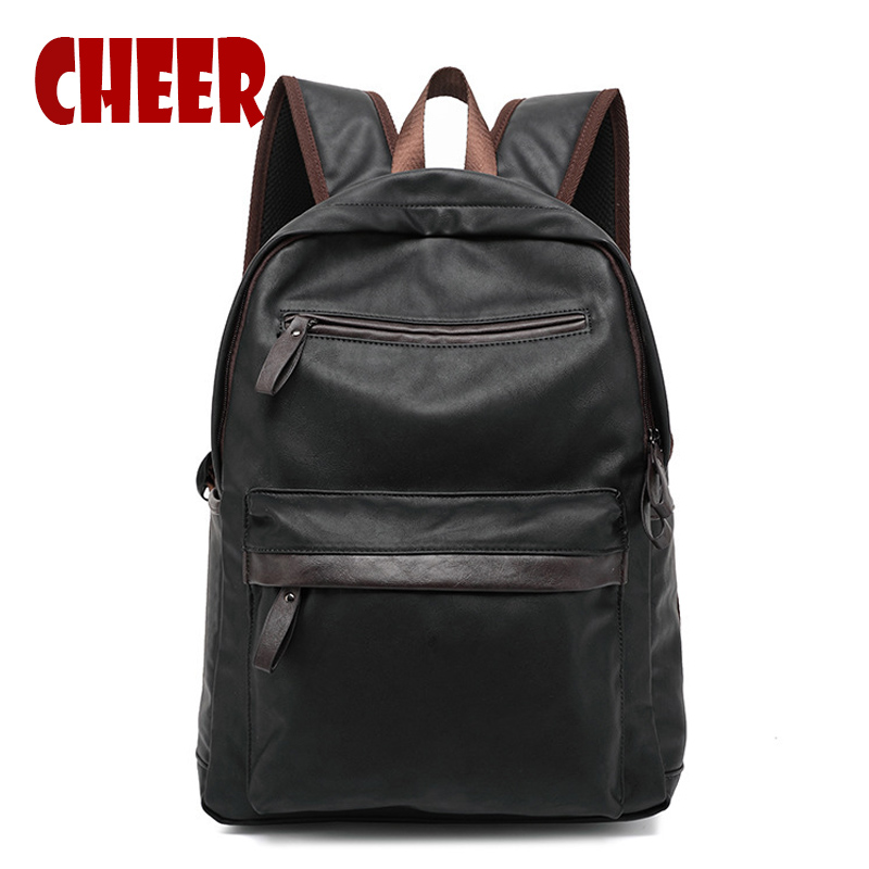 2017 hot fashion male bag men backpack Leisure school wind Business Multi-functional large-capacity pu backpacks Laptop bag ly12014the new leisure backpack hiking backpack shoulders laptop bag male or female capacity students bag fashion women backpack