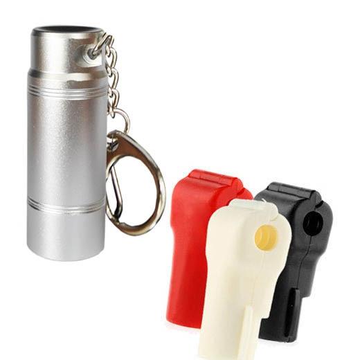 imágenes para 100 unids Gancho EAS Detener Lock Bloqueo antirrobo de Llave Magnética para Gancho de la Exhibición + 1 Separadores clave