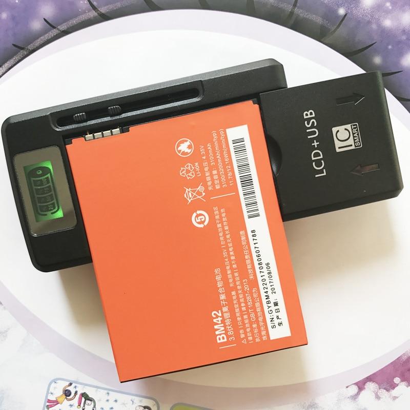 Battery-Bm42 Replacement Note Xiaomi Redmi Original for 4G Prime Hongmi 3100mah