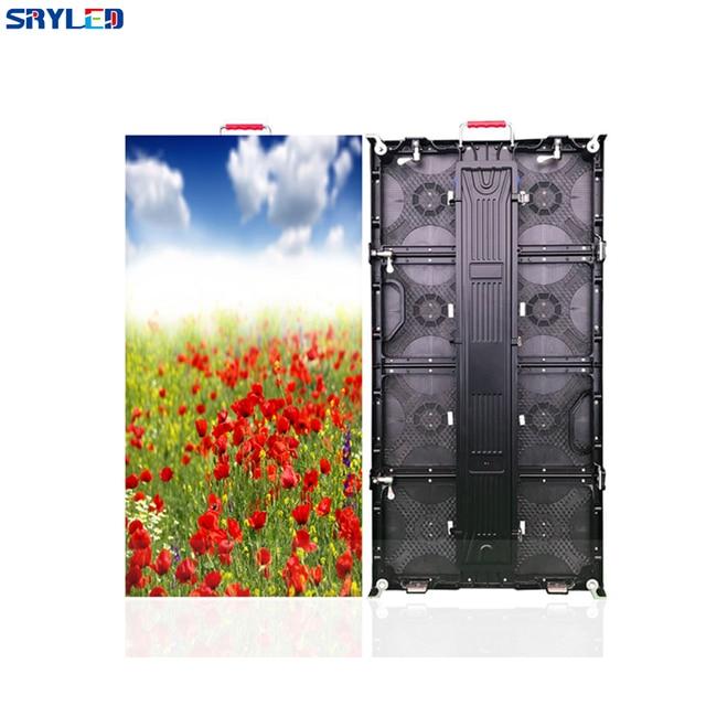 HD מלא צבע שלב P4.81 השכרה מקורה Led תצוגת מסך 500X1000mm