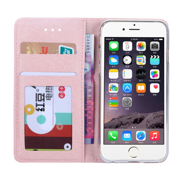 Case For iPhone 6 6S 7 8 Plus X XS Max XR 11 Pro Max 5 5s SE 7plus 8plus 5C Silk Leather Wallet Cover Card Holder Flip Coque 1