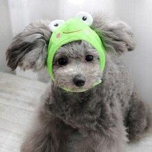 Милая шляпа для собак в форме животного, кепка для собак, дешевые аксессуары колпачки для домашних животных, шапки для домашних животных, Забавный костюм для косплея, шапочка для домашних собак, чихуахуа