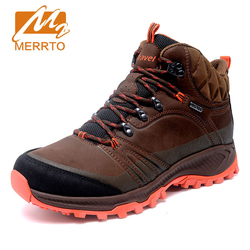 MERRTO New Arrival Men Hiking Shoes Anti Slip Outdoor Sport Shoes Walking Trekking Climbing Sneakers Comfortable Hunting Boots