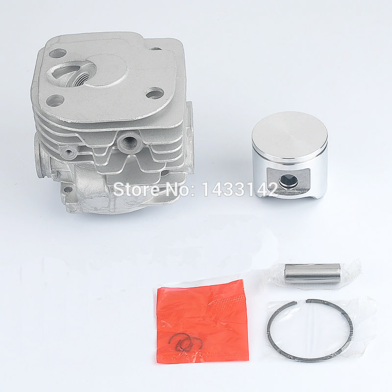 48MM CYLINDER PISTON KIT FOR HUSQVARNA 362 365 371 372 XP Cut off saws Chainsaw 38mm cylinder piston crank case housing bearing kit fit husqvarna 137 142 new