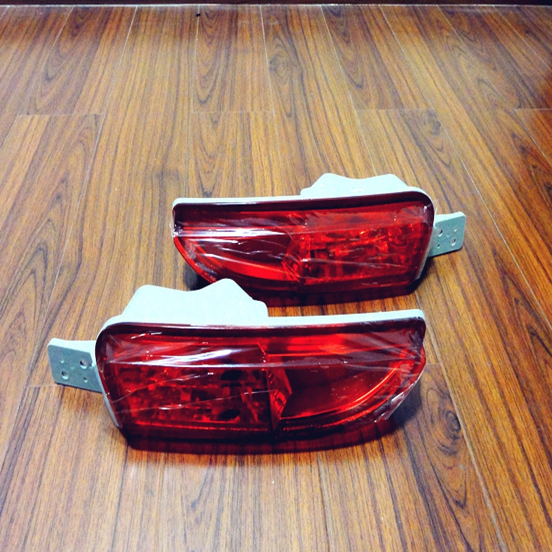 1Pair OEM Tail Bumper Fog Lights Rear Fog Lamps Without Bulbs For HONDA CRV 2012-2014 1pair oem front fog lights bumper spot lamps without bulbs for toyota camry 2002 2004