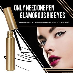 Image 2 - Waterproof Magnetic Eyeliner For Magnets Eyelashes Quick Drying Sweat proof Long lasting Big Eyes Makeup Liquid Eyeliner TSLM2