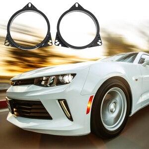 """Image 4 - 6.5 """"Auto Audio Stereo Lautsprecher Adapter Halterung Spacer Ring Halterung Halter Horn Pad Für Toyota Nissan Ford BYD Etc auto Zubehör"""