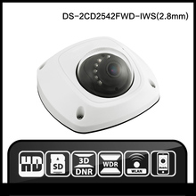 DS-2CD2542FWD-IWS (2.8mm) hik original Inglés versión Hik OE de la Bóveda Wifi ONVIF Audio Audio de La Cámara de $ NUMBER MP IP de Alarma cámara