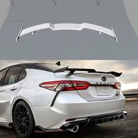 Car Styling ABS Plastic Unpainted Primer Color Rear Spoiler Trunk Boot Wing Lip Spoiler For toyota Camry 2018 2019 2020|Spoilers & Wings| |  -