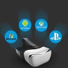 Qiateng 3D All In One Omimo VR For PC Virtual Reality Display With Display 1080p HDMI 1080P Digital Display Imax Video Eyewear