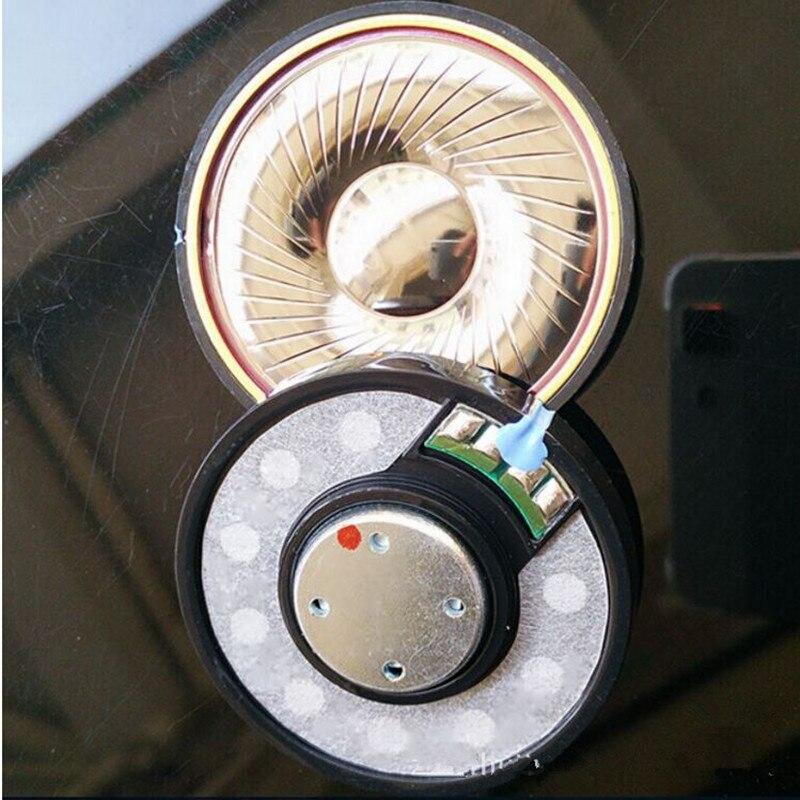 50MM 32 300ohm human voice DIY headphone speakers unit For repair headphone