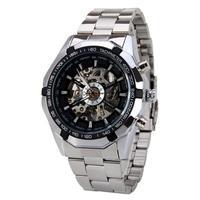 2018 Mens Watches Top Brand Luxury Winner Fashion Skeleton Clock Men Sport Watch Automatic Mechanical Watches