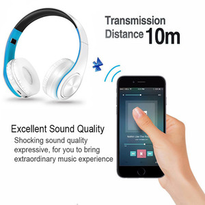 Image 2 - NEW Upgraded V5.0 Wireless Bluetooth Earphones Headset Stereo Headphones Earphone with Microphone/TF Card for Mobile Phone Music