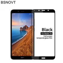 2PCS For Glass Xiaomi Redmi 7A Screen Protector Full Coverage Tempered Film BSNOVT