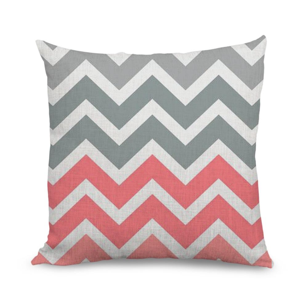 New Products 18 * 18 Square Tiffany Fade Chevron Pattern Art prints Outdoor Throw Cushio ...