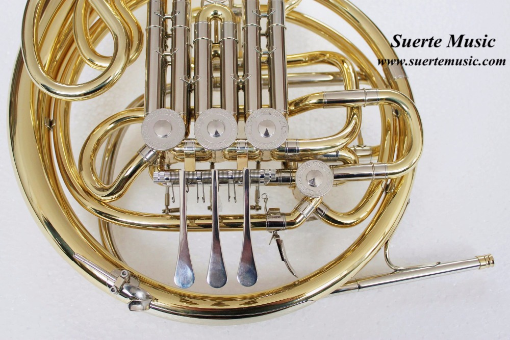 CONN 8D French Horn F Bb Double French horn 4 valves musical instruments professional with with Case and mouthpiece