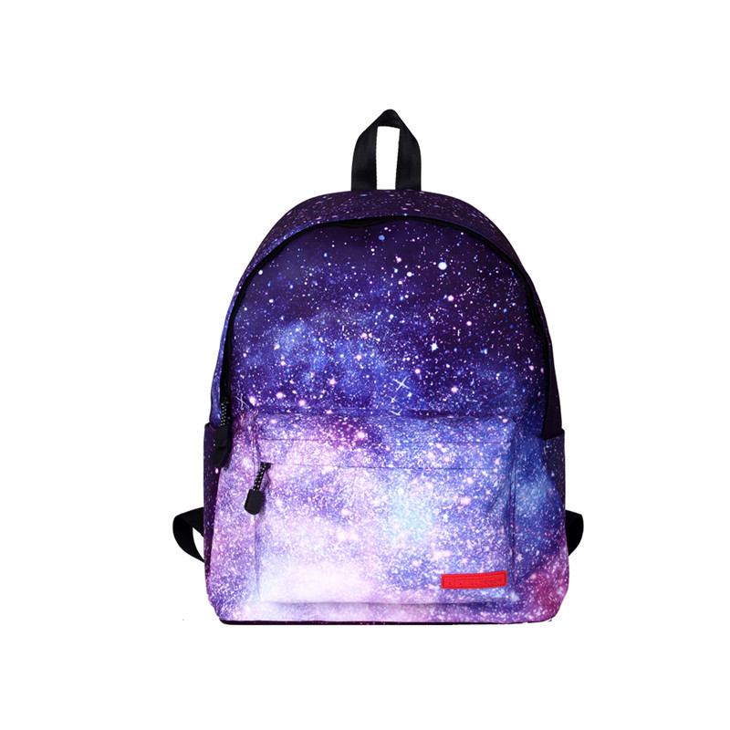 Galaxy Backpack Space Backpacks Universe Floral Printing School Bags For Teenage Girls 2017 Students Mochila Notebook Sac A Dos