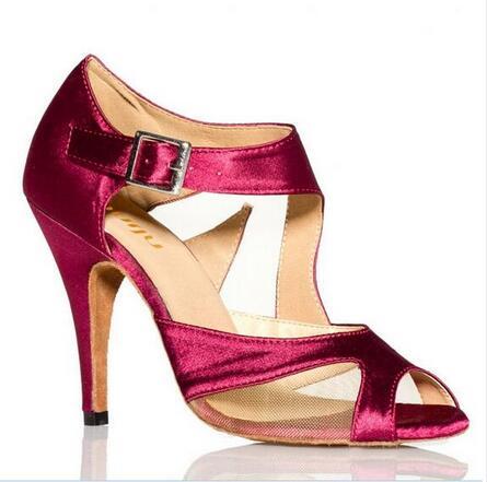 Satin Womens Latin Dance Shoe Model 2017