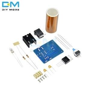 Image 3 - BD243 BD243C Mini Tesla Coil Magic Props DIY Parts Empty Lights Technology Diy Electronic kit