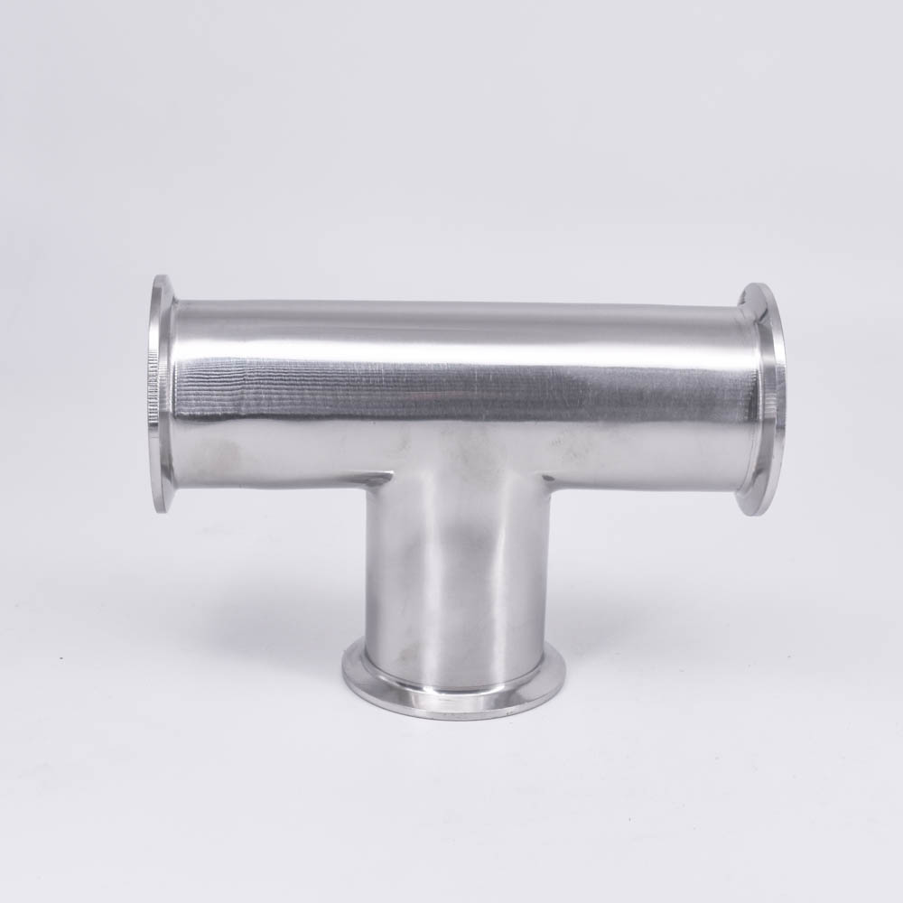 """2/"""" Tri Clamp x 51mm Pipe OD SUS304 45 Degree Elbow Sanitary Fitting Home Brew"""