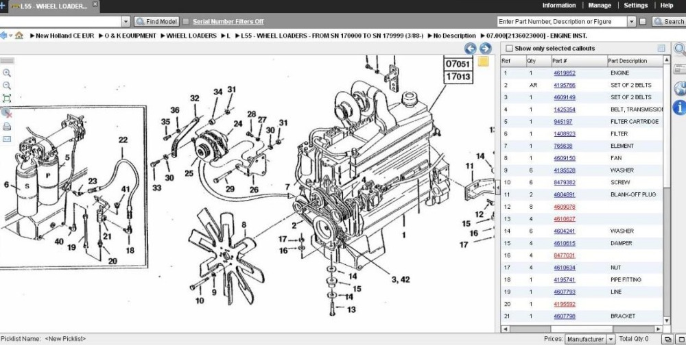 New Holland L185 Wiring Diagrams  Wiring Diagram Pictures