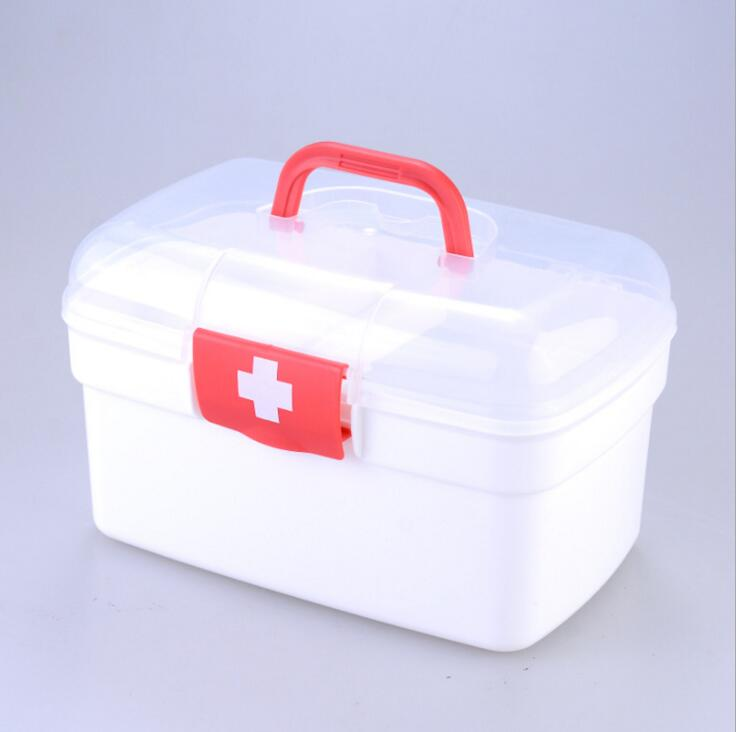 SLPJ1-Free Shipping Home Kit Plastic Kit First Aid Kit Household Emergency Portable Port ...
