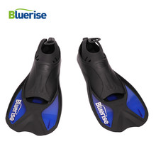 BLUERISE Swimming Flippers Snorkel Fins Neoprene Anti-slip Swim Shoe Scuba Swimming Diving Fins For Adults Snorkeling Surfing(China)