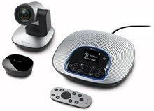 Logitech ConferenceCam CC3000e All-In-One HD Video und Audio Konferenzsystem, 1080 p Kamera und Freisprecheinrichtung