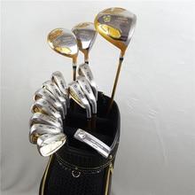 Комплект для гольф-клубов, набор Honma Bere, S-05, 4 звезды, наборы гольф-клуба, водителя+ Фарватер+ Утюг для гольфа+ клюшка(14 шт.), без сумки для гольфа