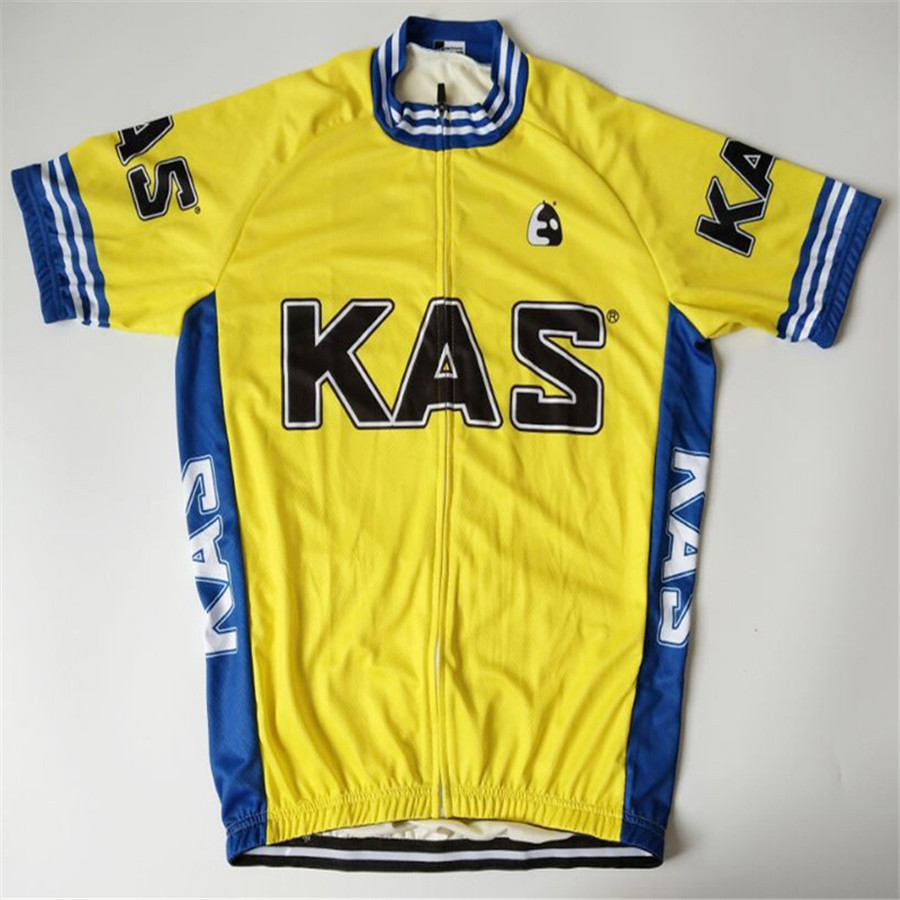 KAS Cycling jersey 2018 men bike team short sleeve Cycling Clothing  Breathable Ropa De Ciclismo 8 d376a0014