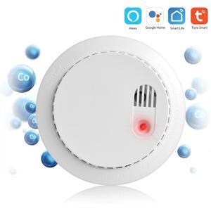 Image 4 - Lonsonho Tuya Smartlife WiFi เครื่องตรวจจับก๊าซคาร์บอนมอนอกไซด์ CO SMOKE SENSOR สมาร์ทระบบรักษาความปลอดภัย Smart Home Automation