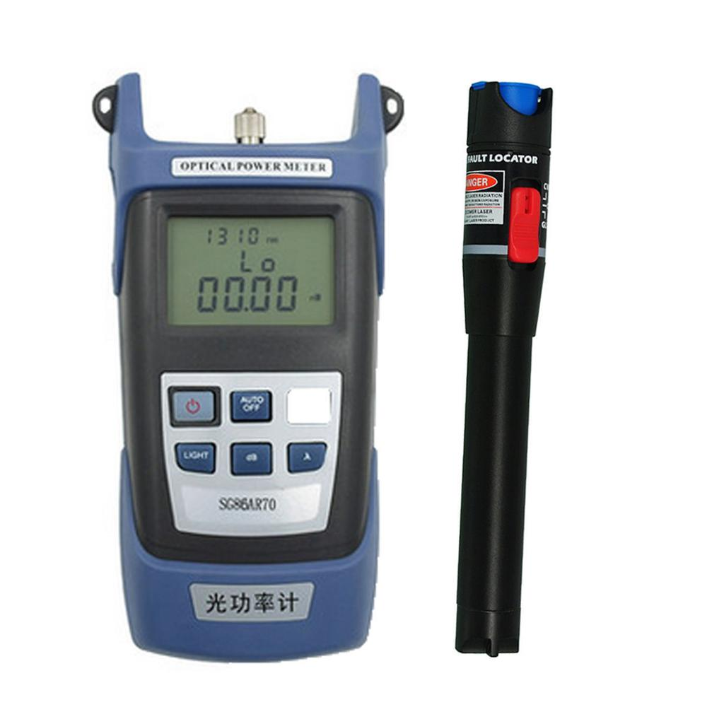 Optical Power Meter RY3200B 50~+26 dBm and 15km 15mW Visual Fault Locator