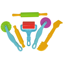 JOY MAGS Play Dough Playdough Polymer Clay Plasticine Mold Tools Set Kit Syringes styling tools Birthday
