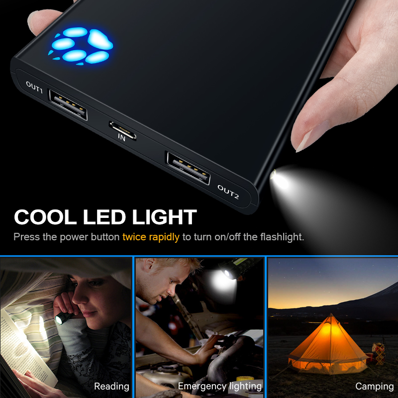 Portable high-speed charging power 4