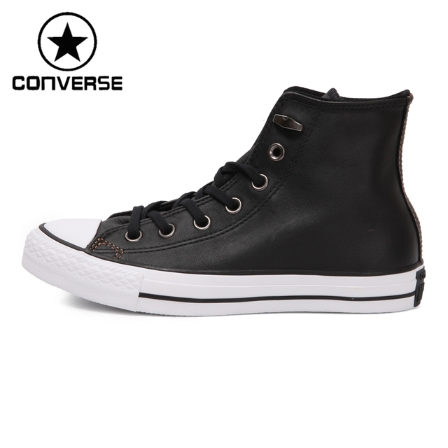 Original New Arrival 2017 Converse Unisex Skateboarding Shoes Leather  Sneakers ddcdb9ada6c1
