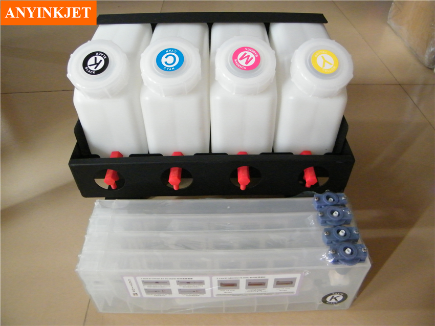 4 color bulk ink system for Mimaki JV2 JV22 JV3 JV33 JV5 JV34 TS34 for Roland FJ-540/740,SJ540/640/740,1000/1045,SP300 printer pa 1000l printer ink damper for roland rs640 sj1045ex sj1000 mutoh rhx vj1064 more
