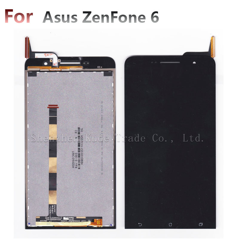 LCD Display + Touch Screen Digitizer Glass Panel For Asus ZenFone 6 ZenFone6 A600CG A601CG T00G