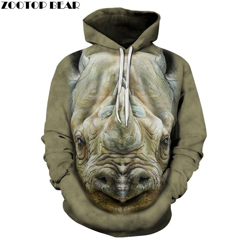 Animal Sweatshirts Men Women Hoodies Fashion Tracksuits 3D Prints Pullover 6xl Hoody Funny Coat Streetwear Drop Ship ZOOTOP BEAR
