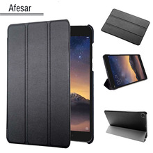 Cubierta de cuero para xiaomi mi pad 2 ultraslim mipad 3 (7.9 in) flip case-soporte de la cubierta de folio case para mipad 2 mi pad 3 tableta